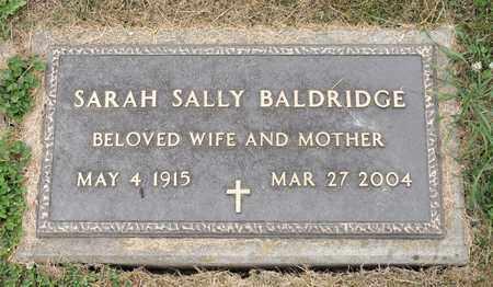 BALDRIDGE, SARAH SALLY - Richland County, Ohio   SARAH SALLY BALDRIDGE - Ohio Gravestone Photos
