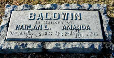 BALDWIN, HARLAN L - Richland County, Ohio | HARLAN L BALDWIN - Ohio Gravestone Photos