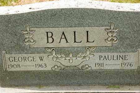 BALL, PAULINE - Richland County, Ohio | PAULINE BALL - Ohio Gravestone Photos