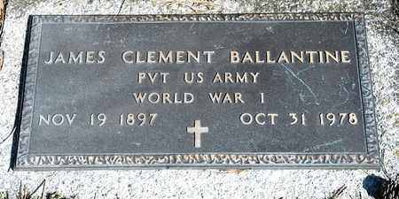 BALLANTINE, JAMES CLEMENT - Richland County, Ohio | JAMES CLEMENT BALLANTINE - Ohio Gravestone Photos