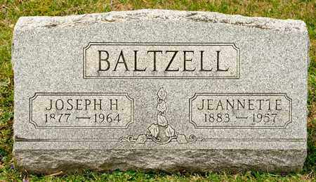 BALTZELL, JEANNETTE - Richland County, Ohio | JEANNETTE BALTZELL - Ohio Gravestone Photos