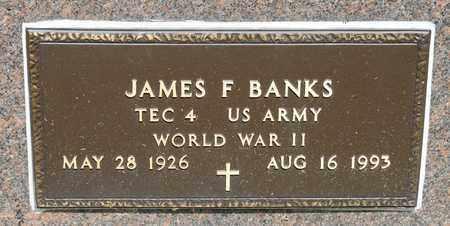 BANKS, JAMES F - Richland County, Ohio | JAMES F BANKS - Ohio Gravestone Photos
