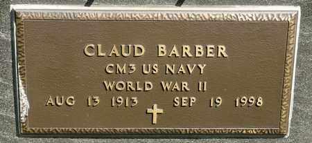 BARBER, CLAUD - Richland County, Ohio | CLAUD BARBER - Ohio Gravestone Photos