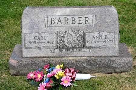 BARBER, CARL - Richland County, Ohio | CARL BARBER - Ohio Gravestone Photos
