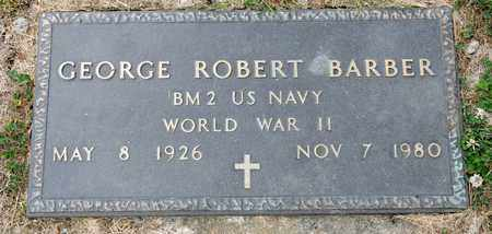 BARBER, GEORGE ROBERT - Richland County, Ohio | GEORGE ROBERT BARBER - Ohio Gravestone Photos