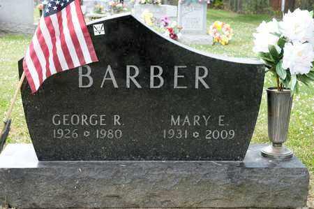 BARBER, GEORGE R - Richland County, Ohio   GEORGE R BARBER - Ohio Gravestone Photos
