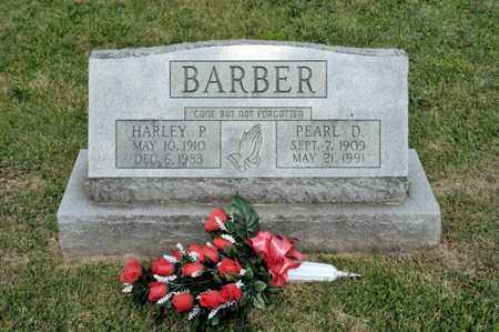 BARBER, HARLEY P - Richland County, Ohio | HARLEY P BARBER - Ohio Gravestone Photos