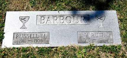 BARBOUR, V RUTH - Richland County, Ohio | V RUTH BARBOUR - Ohio Gravestone Photos