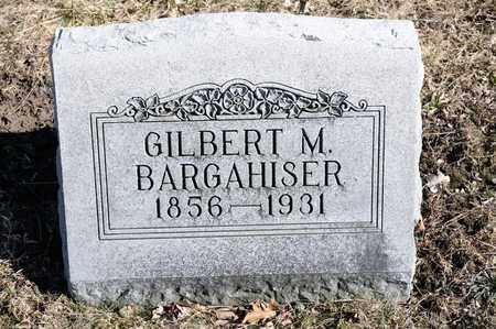 BARGAHISER, GILBERT M - Richland County, Ohio | GILBERT M BARGAHISER - Ohio Gravestone Photos