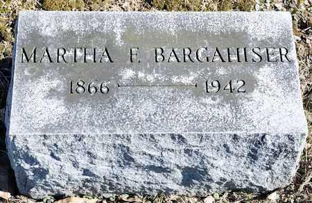 BARGAHISER, MARTHA F - Richland County, Ohio   MARTHA F BARGAHISER - Ohio Gravestone Photos