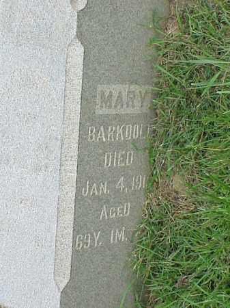 BARKDOLL, MARY - Richland County, Ohio | MARY BARKDOLL - Ohio Gravestone Photos