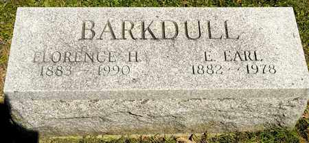 BARKDULL, E EARL - Richland County, Ohio | E EARL BARKDULL - Ohio Gravestone Photos
