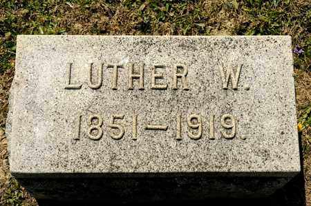 BARKDULL, LUTHER W - Richland County, Ohio | LUTHER W BARKDULL - Ohio Gravestone Photos