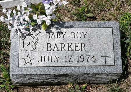 BARKER, BABY BOY - Richland County, Ohio | BABY BOY BARKER - Ohio Gravestone Photos