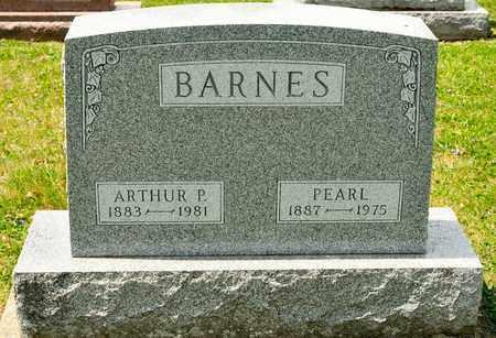 BARNES, PEARL - Richland County, Ohio | PEARL BARNES - Ohio Gravestone Photos