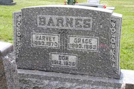 BARNES, GRACE - Richland County, Ohio | GRACE BARNES - Ohio Gravestone Photos