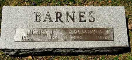 BARNES, HENRY J - Richland County, Ohio | HENRY J BARNES - Ohio Gravestone Photos