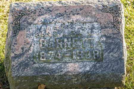 BARNETT, MARTHA J - Richland County, Ohio | MARTHA J BARNETT - Ohio Gravestone Photos