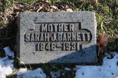 BARNETT, SARAH J - Richland County, Ohio | SARAH J BARNETT - Ohio Gravestone Photos