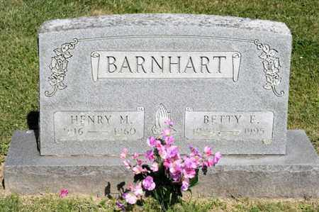 BARNHART, HENRY M - Richland County, Ohio | HENRY M BARNHART - Ohio Gravestone Photos
