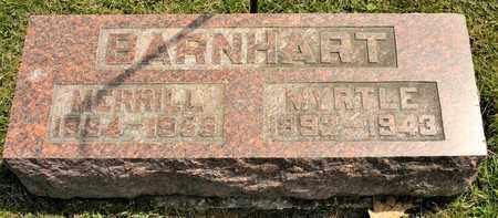 BARNHART, MYRTLE - Richland County, Ohio | MYRTLE BARNHART - Ohio Gravestone Photos