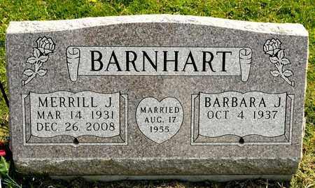 BARNHART, MERRILL J - Richland County, Ohio   MERRILL J BARNHART - Ohio Gravestone Photos
