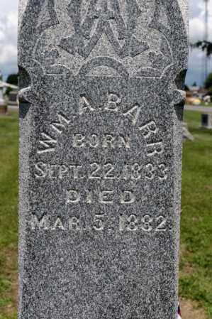 BARR, WILLIAM A - Richland County, Ohio | WILLIAM A BARR - Ohio Gravestone Photos