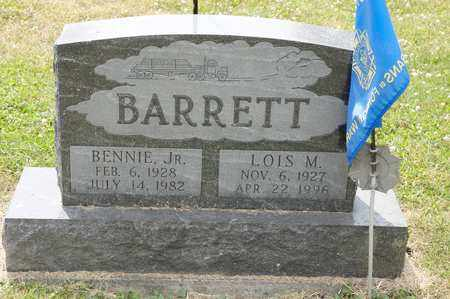 BARRETT JR, BENNIE - Richland County, Ohio | BENNIE BARRETT JR - Ohio Gravestone Photos