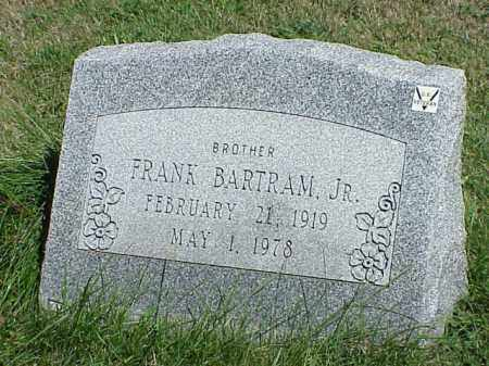 BARTMAN, JR., FRANK - Richland County, Ohio | FRANK BARTMAN, JR. - Ohio Gravestone Photos