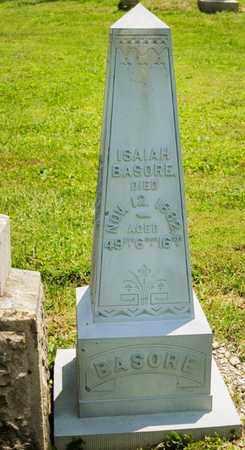 BASHORE, ISAIAH - Richland County, Ohio   ISAIAH BASHORE - Ohio Gravestone Photos