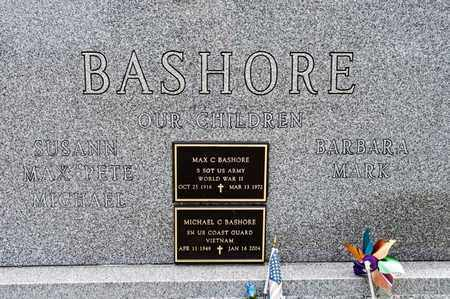 BASHORE, MICHAEL C - Richland County, Ohio | MICHAEL C BASHORE - Ohio Gravestone Photos