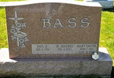 BASS, MARY - Richland County, Ohio | MARY BASS - Ohio Gravestone Photos