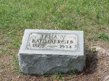 BAUMBERGER, LENA V. - Richland County, Ohio | LENA V. BAUMBERGER - Ohio Gravestone Photos