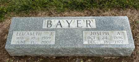 BAYER, ELIZABETH J - Richland County, Ohio | ELIZABETH J BAYER - Ohio Gravestone Photos