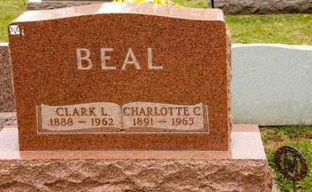 BEAL, CHARLOTTE C - Richland County, Ohio | CHARLOTTE C BEAL - Ohio Gravestone Photos