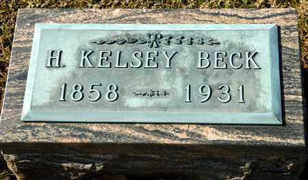 BECK, H KELSEY - Richland County, Ohio | H KELSEY BECK - Ohio Gravestone Photos