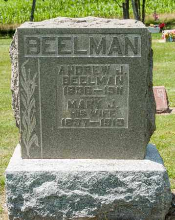 BEELMAN, ANDREW J - Richland County, Ohio | ANDREW J BEELMAN - Ohio Gravestone Photos