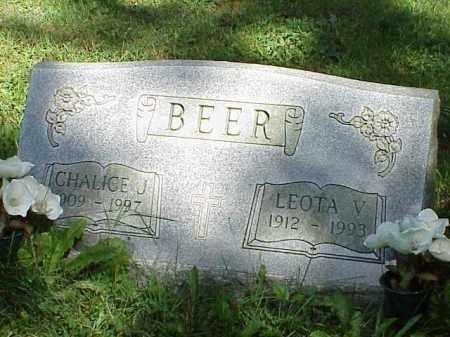 BEER, LEOTA V. - Richland County, Ohio   LEOTA V. BEER - Ohio Gravestone Photos
