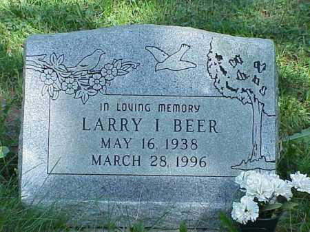 BEER, LARRY I. - Richland County, Ohio | LARRY I. BEER - Ohio Gravestone Photos