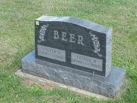 BEER, WALTER - Richland County, Ohio | WALTER BEER - Ohio Gravestone Photos