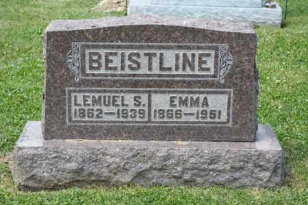 BEISTLINE, EMMA - Richland County, Ohio | EMMA BEISTLINE - Ohio Gravestone Photos