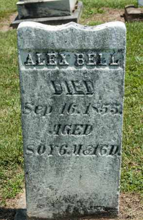 BELL, ALEX - Richland County, Ohio | ALEX BELL - Ohio Gravestone Photos