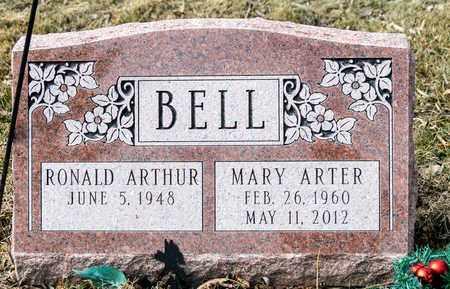 ARTER BELL, MARY - Richland County, Ohio   MARY ARTER BELL - Ohio Gravestone Photos