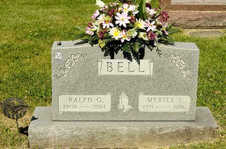 BELL, RALPH G - Richland County, Ohio | RALPH G BELL - Ohio Gravestone Photos
