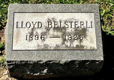 BELSTERLI, LLOYD - Richland County, Ohio | LLOYD BELSTERLI - Ohio Gravestone Photos