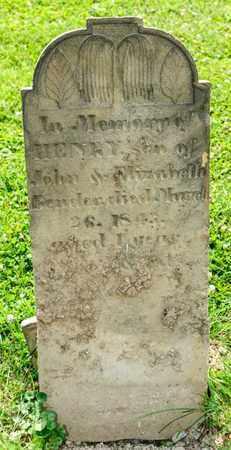 BENDER, HENRY - Richland County, Ohio | HENRY BENDER - Ohio Gravestone Photos
