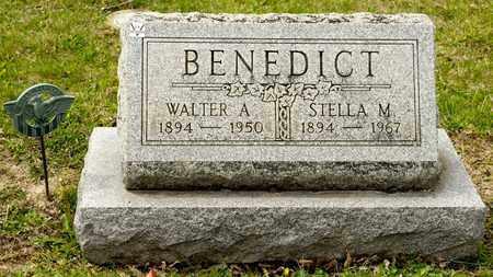 BENEDICT, STELLA M - Richland County, Ohio | STELLA M BENEDICT - Ohio Gravestone Photos