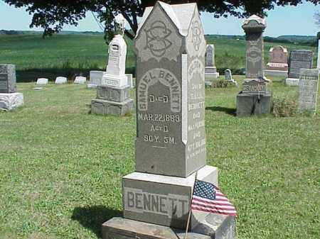 BENNETT, SAMUEL - Richland County, Ohio | SAMUEL BENNETT - Ohio Gravestone Photos