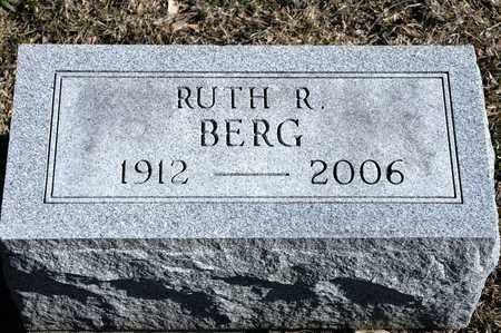 BERG, RUTH R - Richland County, Ohio | RUTH R BERG - Ohio Gravestone Photos