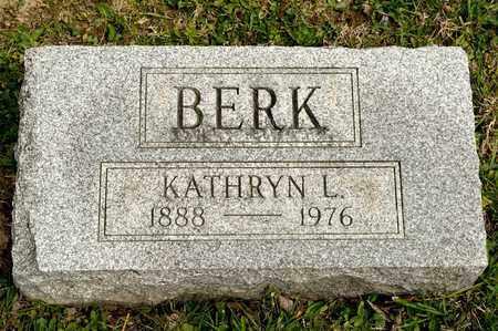 BERK, KATHRYN L - Richland County, Ohio | KATHRYN L BERK - Ohio Gravestone Photos